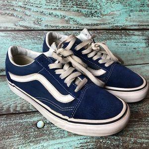 Vans Old Skool Women's Blue Sneakers